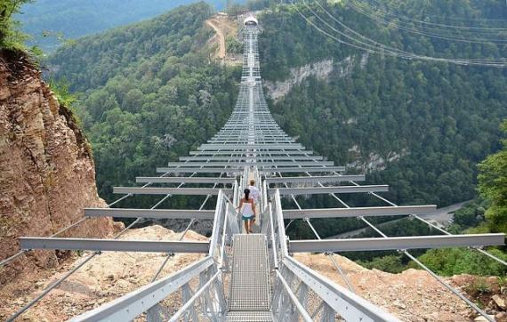 Адлер: Самый длинный мост в мире