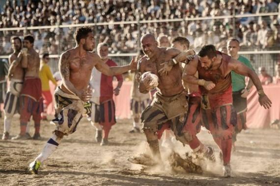 Интересное: Кальчо флорентино - футбол насмерть