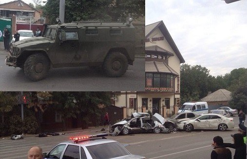 Криминал: Авария в Ростове