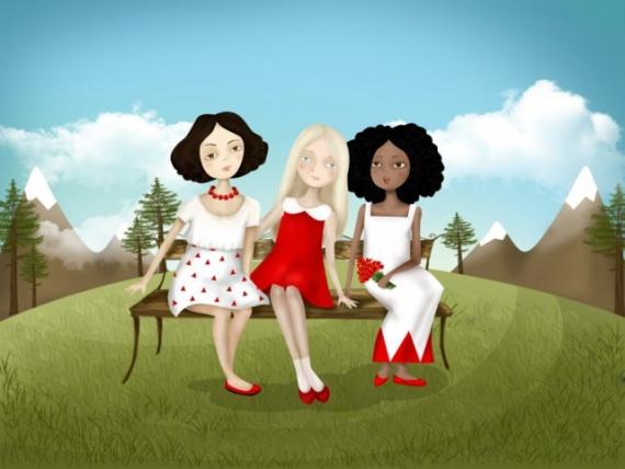 Юмор: Три девицы за окном