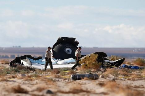 Проишествия: Крушение SpaceShipTwo