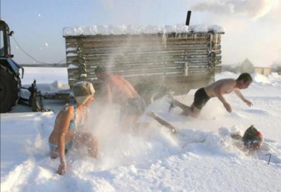Интересное: Русская баня