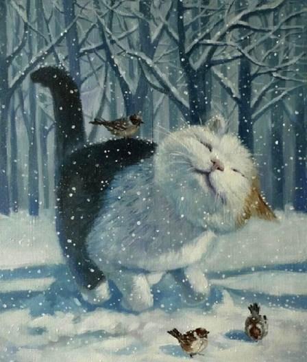 Животные: Новогоднее чудо