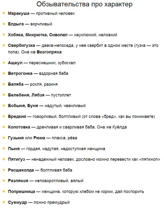 Интересное: Русские ругательства