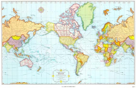 Интересное: Карты мира