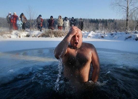 Интересное: Крещенское купание