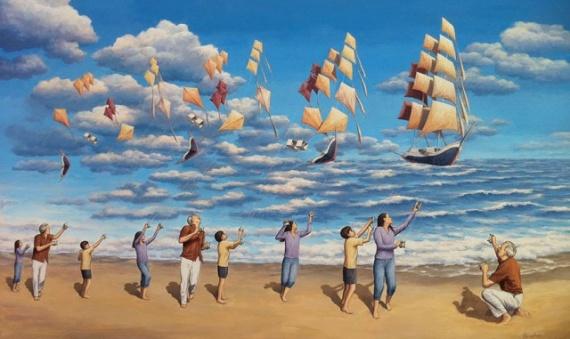 Интересное: Картины иллюзии