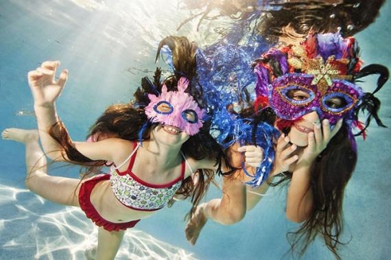 Интересное: Дети под водой