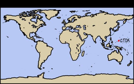 Интересное: Если океаны высохнут
