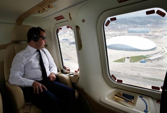 Интересное: Вертолет Путина