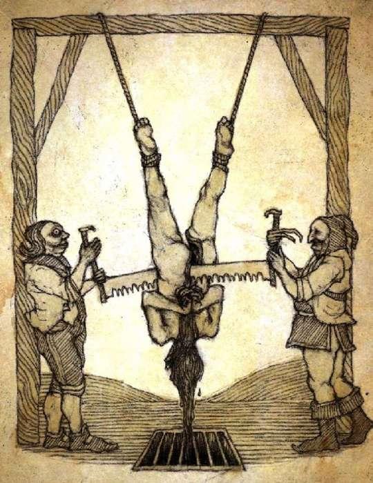 Интересное: Страшные пытки