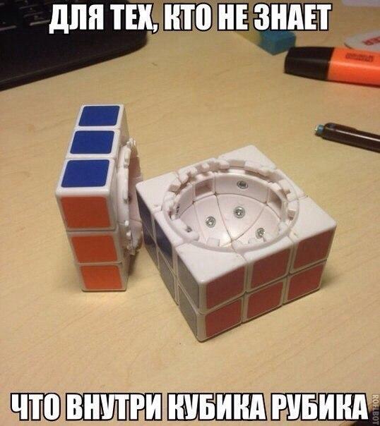 Интересное: Кубик Рубика