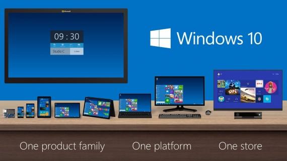 Технологии: Windows 10 10036