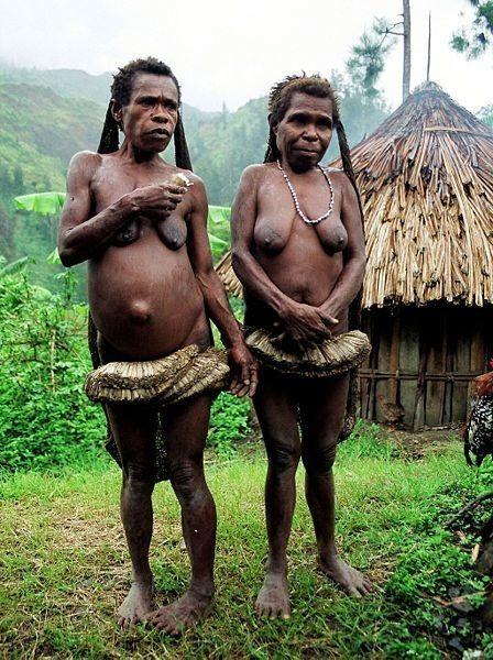 Папуасы голые фото