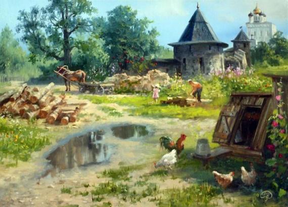 Картинки: Русская деревня