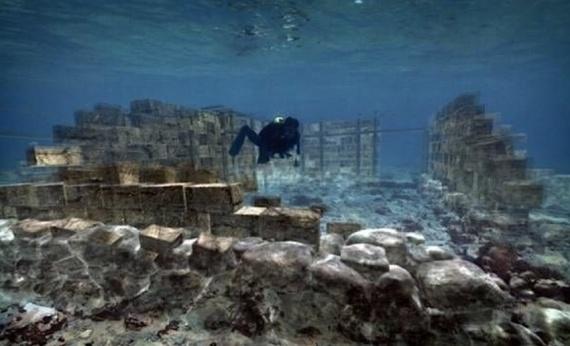 История: Затонувшие города