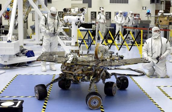 Технологии: Космические роботы