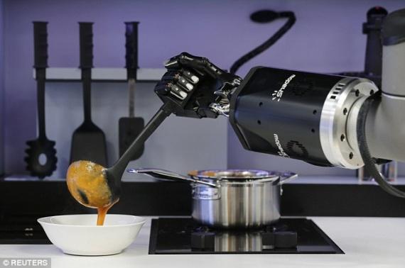 Технологии: Кухонный робот