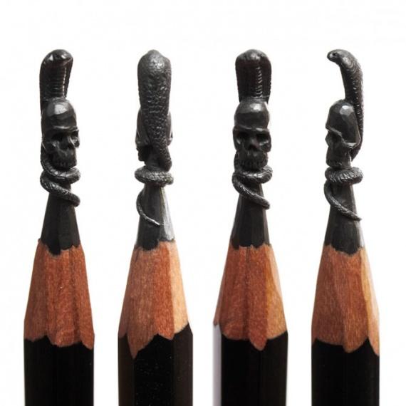 Интересное: Рисунки на грифеле