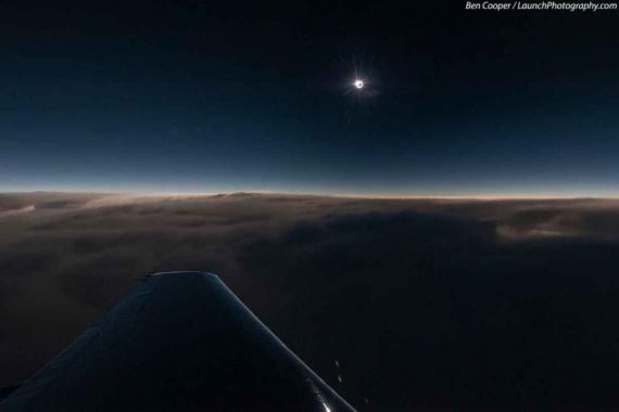 Природа: Под крылом самолета...