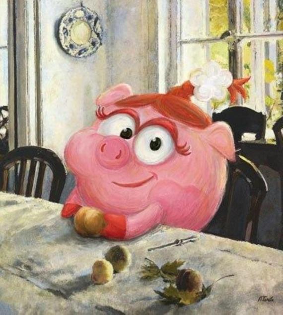 Картинки: Смешарики в искусстве