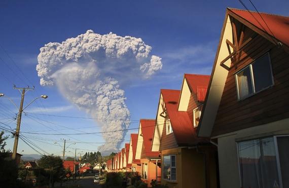 Природа: Вулкан Кальбуко в Чили
