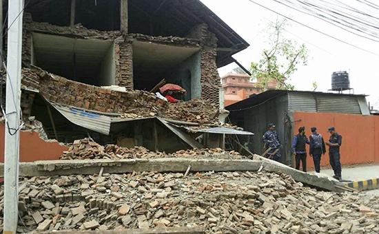 Проишествия: Землетрясение в Непале
