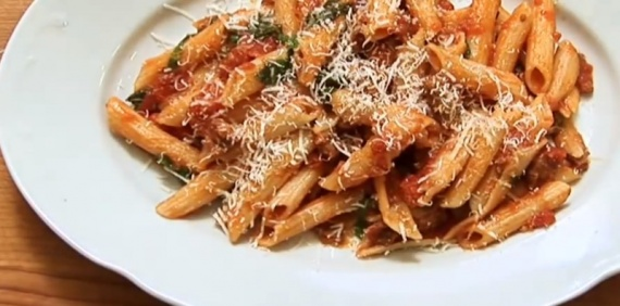 кухня: Макароны по-итальянски