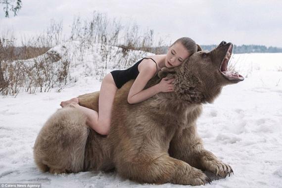Животные: Машки и Медведь