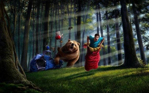 Полезные советы: Если напал медведь