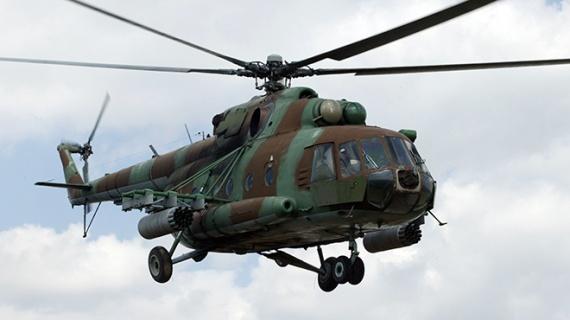 Проишествия: В  Москве упал МИ-8