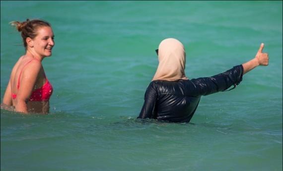 Общество: Купание по шариату