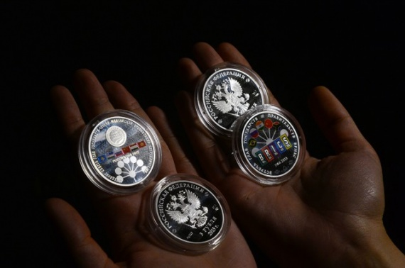 Финансы: Монеты по три рубля