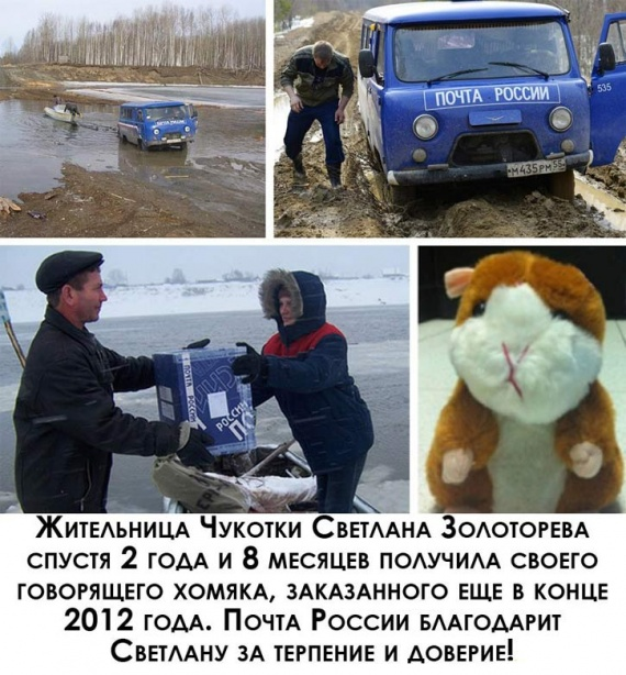 Картинки: Почта России
