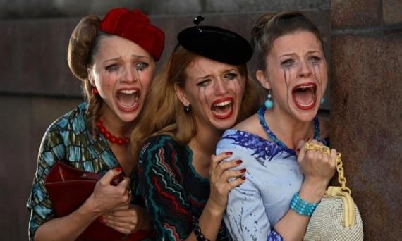 Юмор: Если женщина плачет