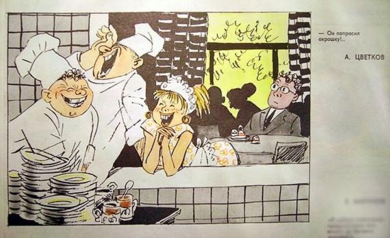 История: Советские столовые