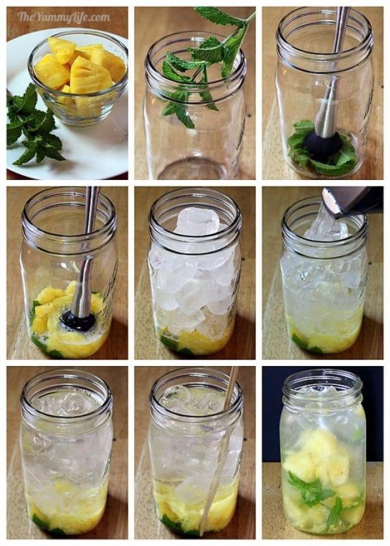кухня: Фруктовая вода