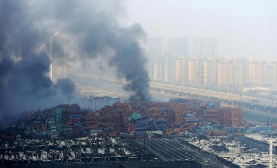Проишествия: Взрыв в Китае