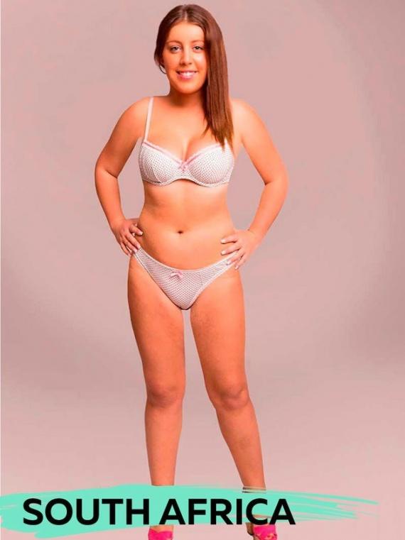 Интересное: Идеальное женское тело