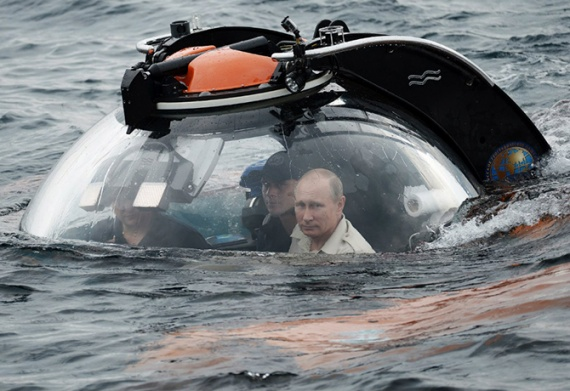 Интересное: Путин и батискаф