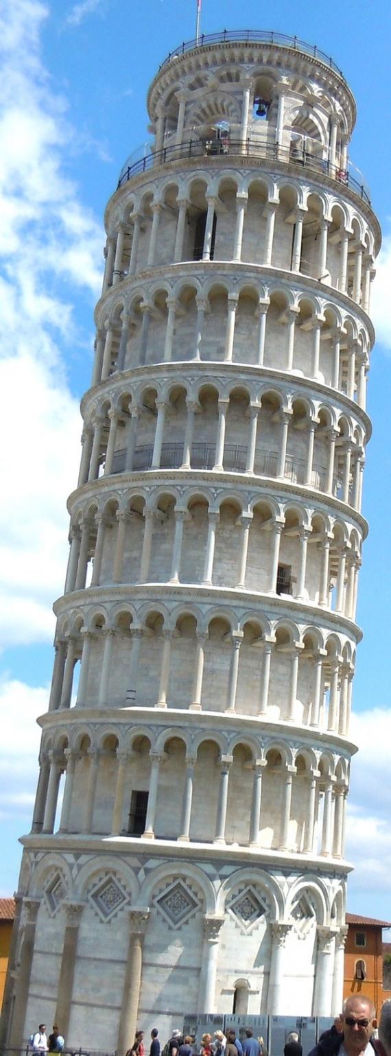 Интересное: Пизанская башня
