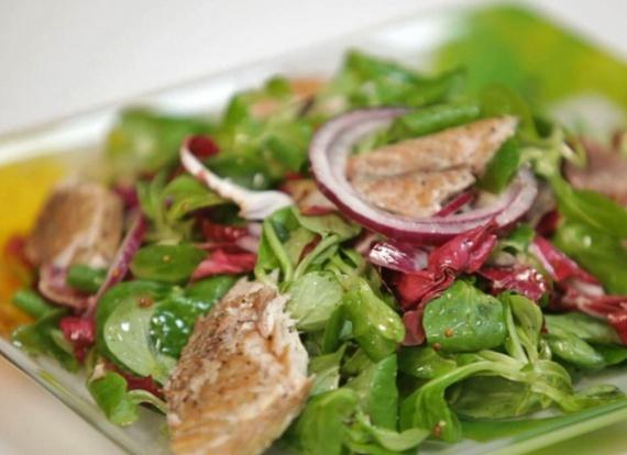 кухня: Вкусные салаты