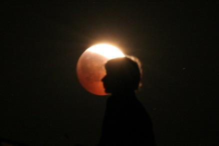 Природа: Лунное затмение
