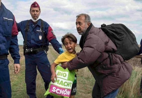 Криминал: *Мирные* беженцы