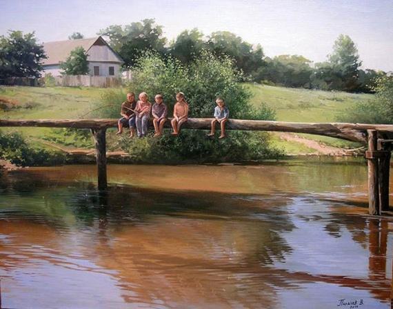 Интересное: Деревня летом