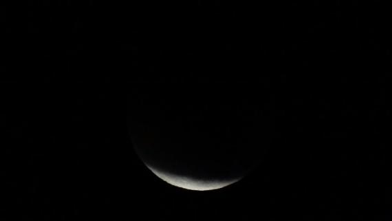Интересное: Лунное затмение