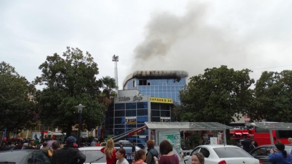 Проишествия: Пожар в Адлере