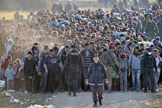 Общество: Я против беженцев