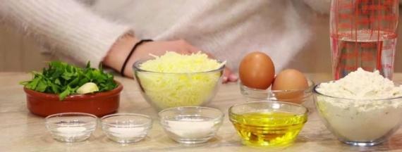 кухня: Сырные блинчики