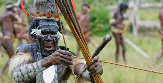Интересное: Как живут папуасы